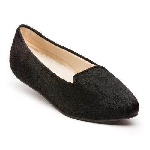 Birdies black bird slippers as worn by Meghan Markle