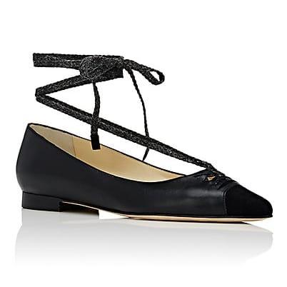 Sarah Flint Lily Ankle Tie Flats as seen on Meghan Markle