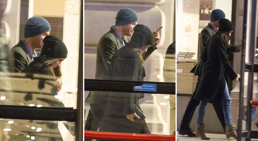 Meghan and Prince Harry pictured together for the first time!