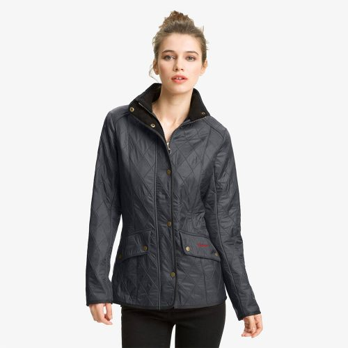 Barbour 'Cavalry' Quilted Jacket in Navy as seen on Meghan Markle