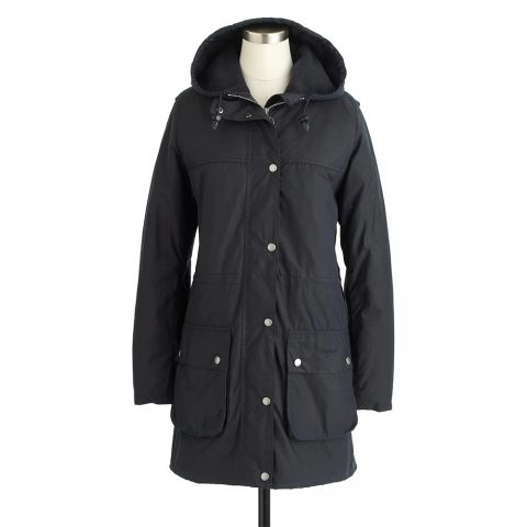 Barbour winter Durham waxed jacket as seen on Meghan Markle