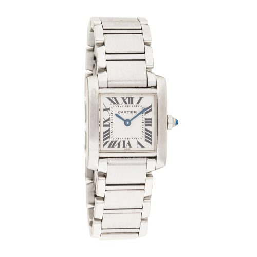 Cartier Tank Française Watch as seen on Meghan Markle