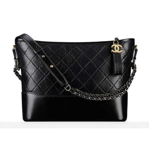 Chanel Gabrielle Hobo Bag in Black as worn by Meghan Markle