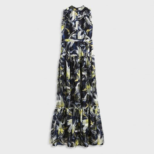 Erdem Ava Printed Silk-Chiffon Gown as seen on Meghan Markle