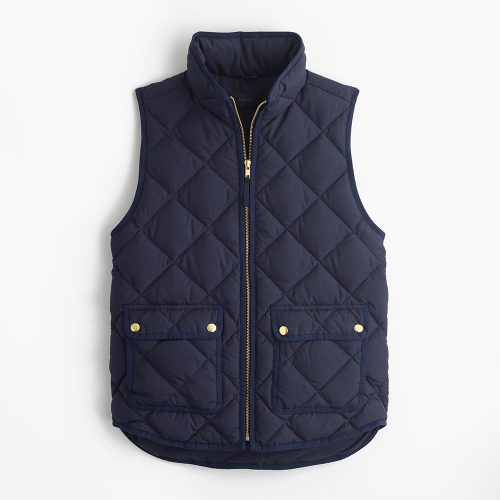 J.Crew Excursion Quilted Down Vest as worn by Meghan Markle