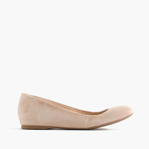 J.Crew Cece Italian made suede ballet flats as seen on Meghan Markle