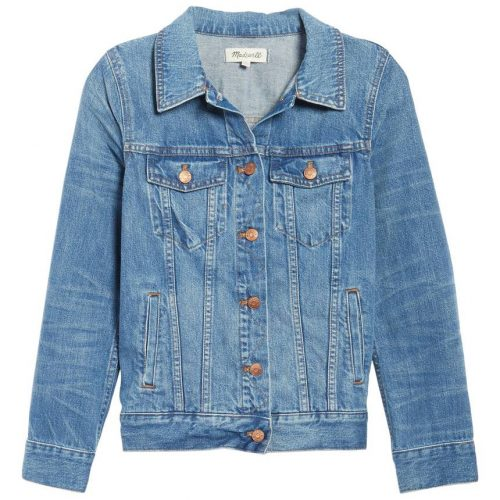Madewell Classic Jean Denim Jacket in Pinter Wash as worn by Meghan Markle