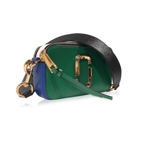 Marc Jacobs Snapshot Green Grass Saffiano Camera Bag as seen on Meghan Markle