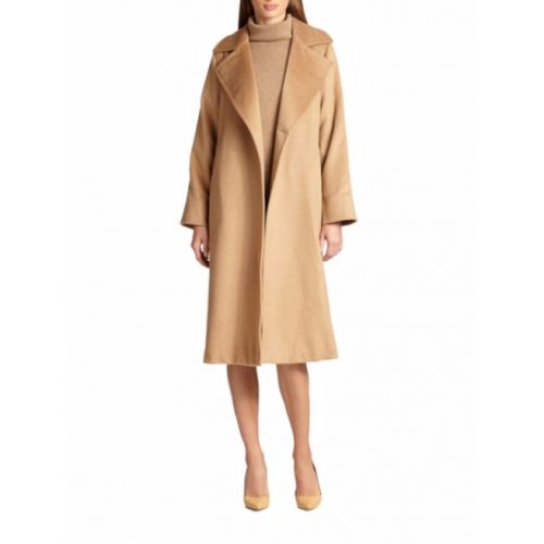 Max Mara Manuela Camel Hair Wrap Coat as worn by Meghan Markle