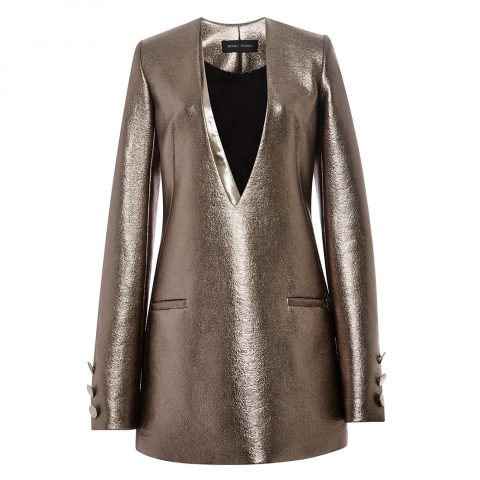 Misha Nonoo Liquid Metal Valerie Dress as seen on Meghan Markle