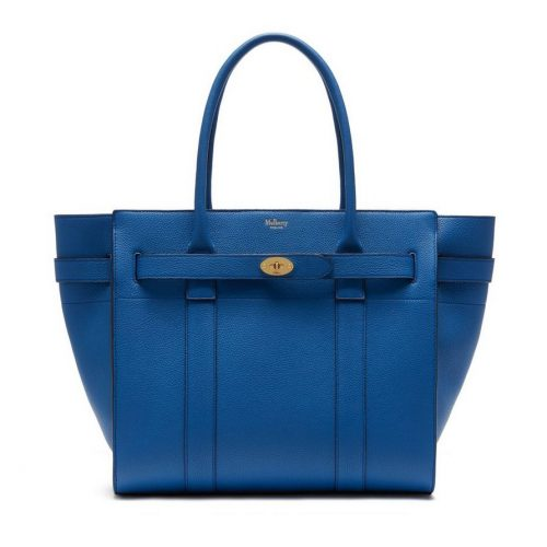 Mulberry Bayswater Tote in Porcelain Blue as seen on Meghan Markle