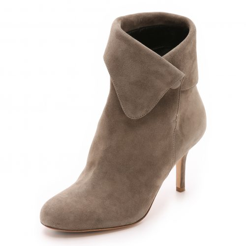 Sarah Flint Sophia Booties in Taupe as seen on Meghan Markle