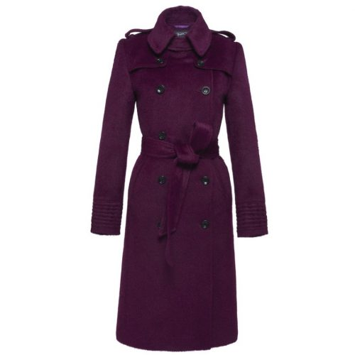 Sentaler Double Breasted Trench Coat