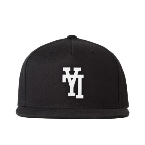 Y7 LA Upside Down Snap Back Hat/Cap as seen on Meghan Markle