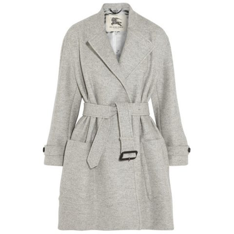 Burberry Belted wool coat as seen on Meghan Markle