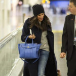 A smiling Meghan was yesterday seen making her way through Heathrow airport, with a member of staff by her side, after being dropped off by her boyfriend Prince Harry following a romantic week spent together in the English capital. December 18, 2016