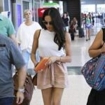 Meghan Markle spotted at Austin airport in Texas on June 11, 2017.