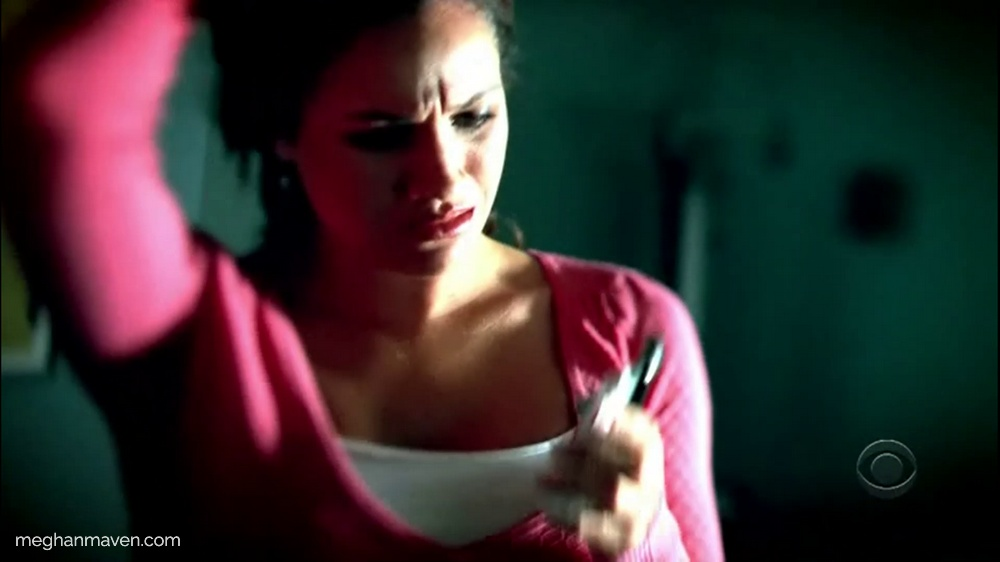 Meghan Markle plays sexy maid and murder suspect on CSI New York in 2006.