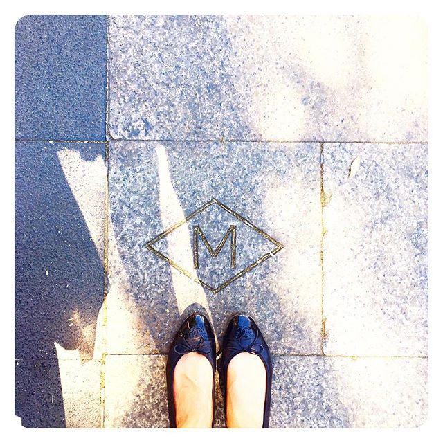 Chanel Cc Cap Toe Flats Meghan Maven