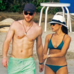 Meghan Markle and Prince Harry on the beach in Jamaica - March 2017.