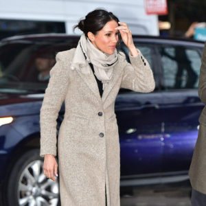 Meghan Markle arriving at Reprezent Radio at Pop Brixton in Brixton, London on January 9, 2018.