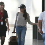 Meghan Markle at Toronto airport on June 25, 2017.