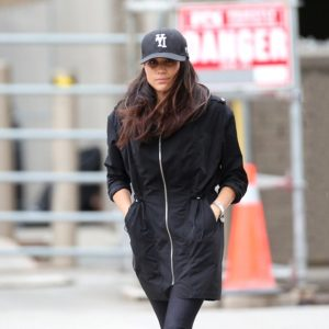 Meghan Markle is seen out and about in Toronto, Canada, on February 26, 2017.