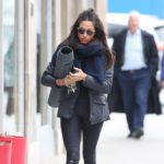 Meghan Markle heads to yoga class in Toronto on April 12, 2017.