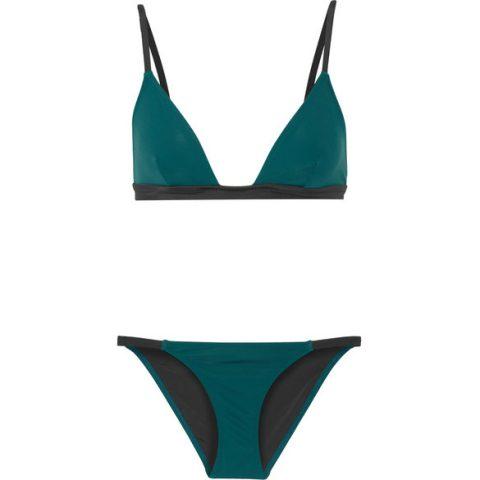 Solid & Striped The Morgan Triangle Bikini as seen on Meghan Markle