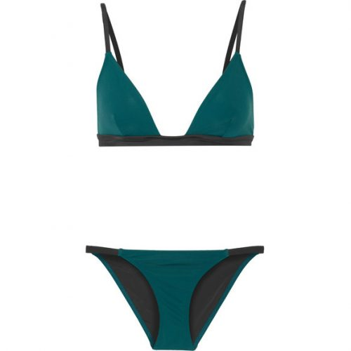 Solid & Striped The Morgan Triangle Bikini as seen on Meghan Markle