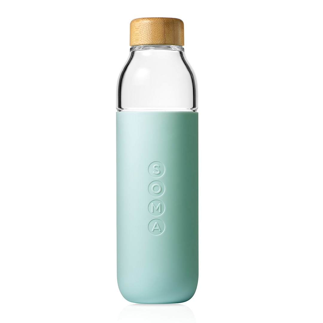 Soma Water Bottle in Mint as used by Meghan Markle