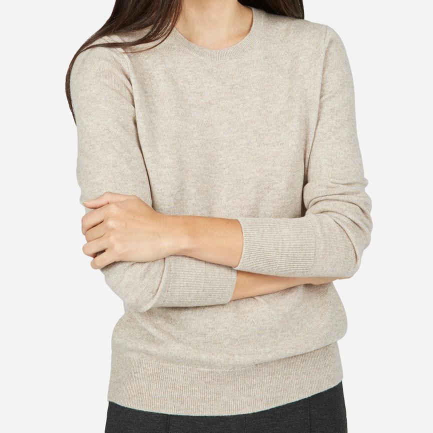 c2fbaa9643 Everlane Cashmere Crewneck Sweater as worn by Meghan Markle
