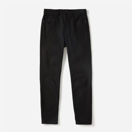 Everlane The High-Rise Ankle Skinny Jeans in Stay Black as seen on Meghan Markle