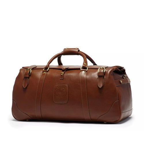 Ghurka Kilburn II NO. 156 Leather Suitcase in Vintage Chestnut as seen on Meghan Markle