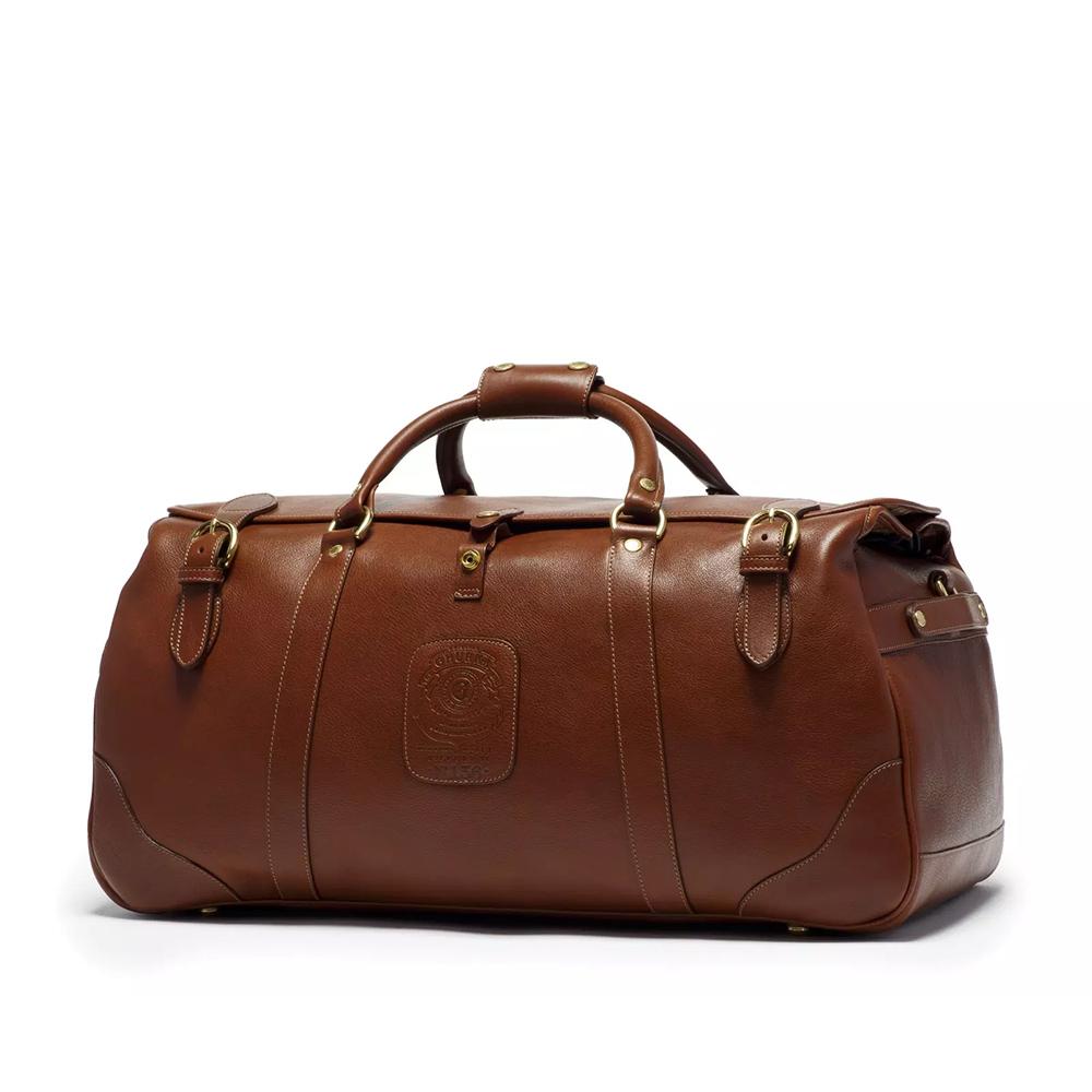 Ghurka Kilburn II NO. 156 Leather Suitcase in Vintage Chestnut as seen on Meghan Markle