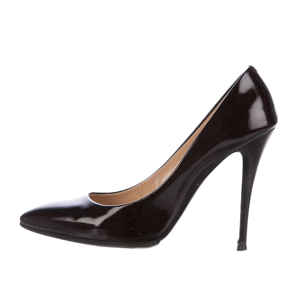 9246edcef95b Giuseppe Zanotti Patent Leather Point Toe Pumps as worn by Meghan Markle