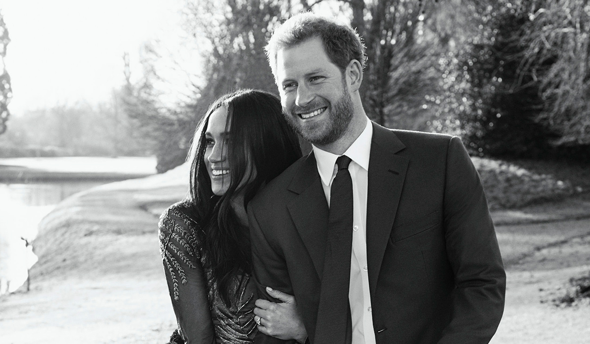 Meghan and Harry Release Official Engagement Photos