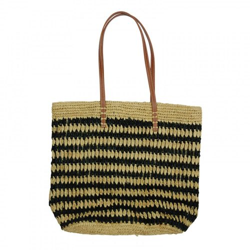 Hat Attack Patterned Raffia Tote as seen on Meghan MarkleHat Attack Patterned Raffia Tote as seen on Meghan Markle