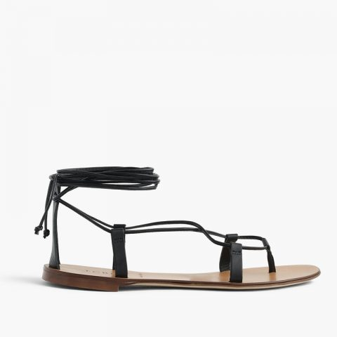 J.Crew Leather Lace-up Sandals as seen on Meghan Markle