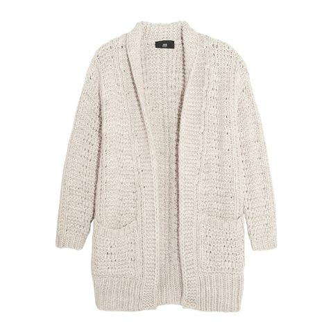 Line the Label Curtis open-knit cardigan as worn by Meghan Markle