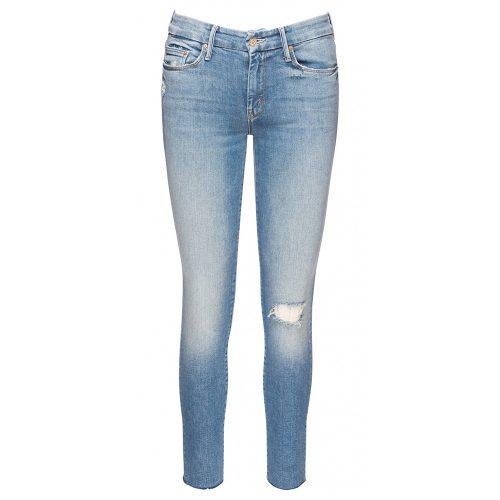 Mother Denim Looker Ankle Fray Jeans in Love Gun as seen on Meghan Markle