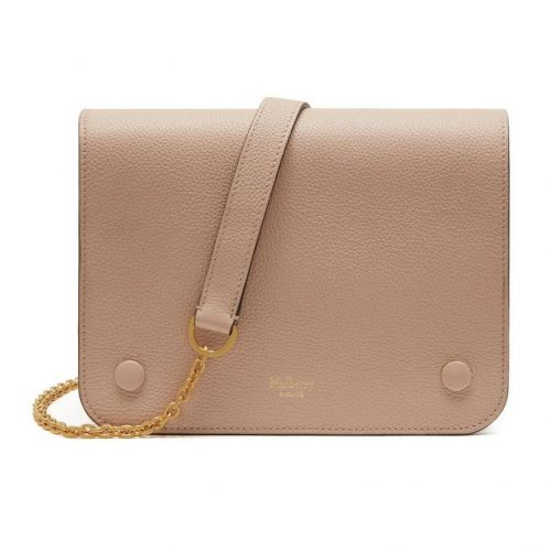 Mulberry Clifton Rosewater Small Classic Grain Bag as worn by Meghan Markle