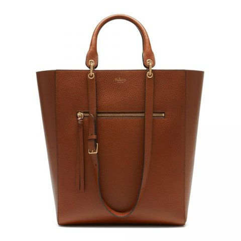 Mulberry Maple Oak Natural Grain Leather Tote as worn by Meghan Markle