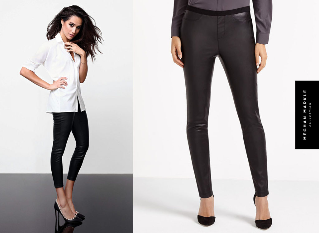 The Faux Leather Legging by Meghan Markle for Reitmans