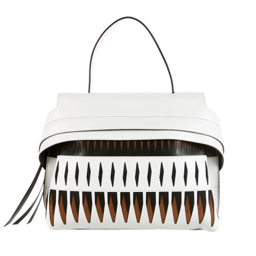 Tod's Wave Laser Cut Satchel as seen on Meghan Markle for TheLuxer.com