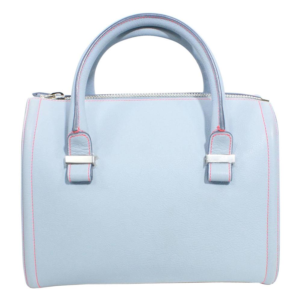 Victoria Beckham Light Blue Mini Tote Bag as worn by Meghan Markle