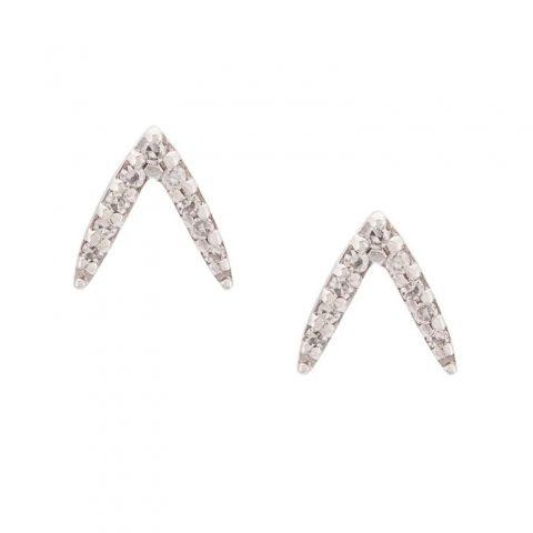 Zofia Day dash stud earrings as seen on Meghan Markle