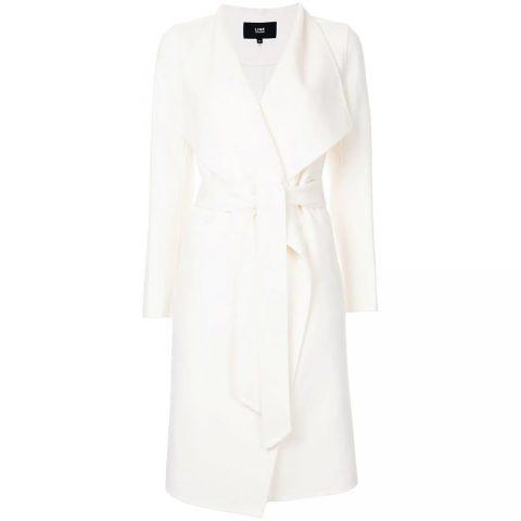 Line the Label 'Mara' Wrap Coat aka the Meghan coat as seen on Meghan Markle