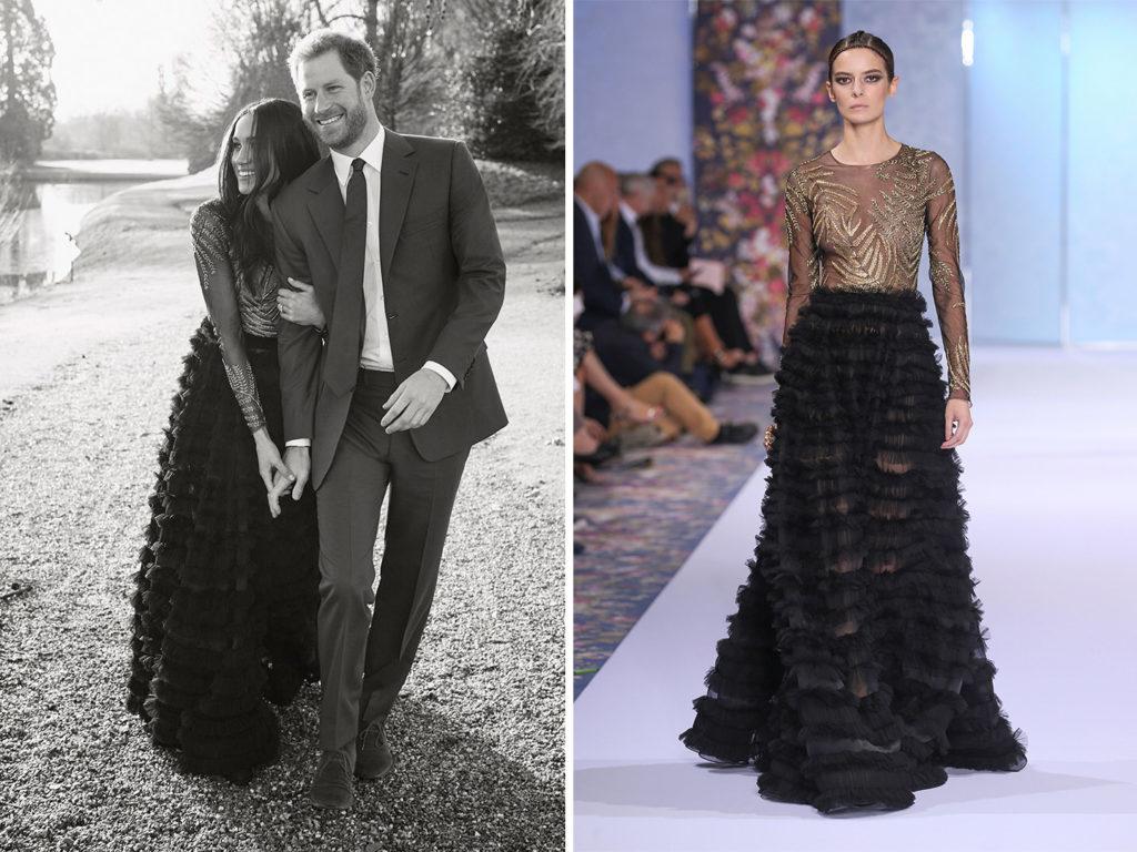 Meghan Markle Ralph & Russo Engagement Dress