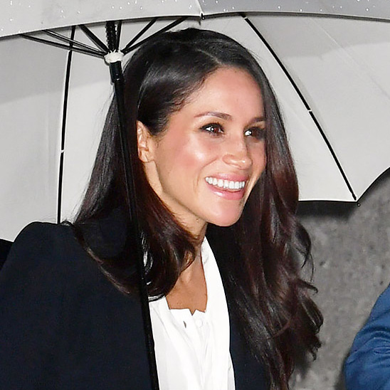 Meghan Markle arriving at Goldsmiths' Hall in London for the annual Endeavour Fund Awards on February 1, 2018.